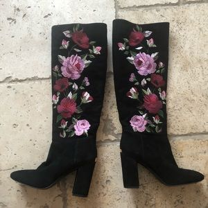 Kate Spade Embroidered Boot